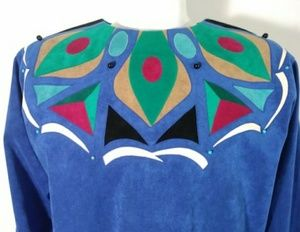 70s ultra suede dress designer Beverly Robin pucci